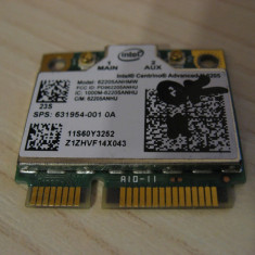 Placa wireless laptop Lenovo E49, Intel Advanced-N 6205, 60Y3253, 631954-001