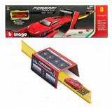 Bburago Ferrari Race & Play - Set traseu viteza, 1:64