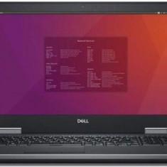 Laptop Dell Precision 7530 (Procesor Intel® Core™ i7-8750H (9M Cache, up to 4.10 GHz), Coffee Lake, 15.6inch UHD, 32GB, 1TB SSD, nVidia Quadro P2000 @