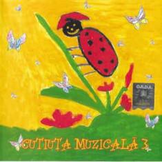 CD Cutiuța Muzicală 3  , original, holograma