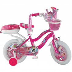 "Bicicleta copii UMIT Princess ,culoare roz ,roata 14"" ,otelPB Cod:1408000000"
