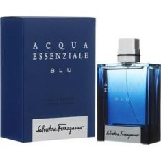 Salvatore Ferragamo Acqua Essenziale Blu Eau de Toilette pentru bărbați 100 ml