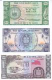 Bancnota Samoa de Vest 1-10 Tala  (1967/2020) - P16e-18e UNC ( set x3 serie S)