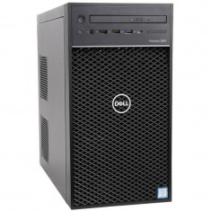 Sistem desktop Dell Precision 3630 Intel Core i7-8700 16GB DDR4 256GB SSD nVidia Quadro P2000 5GB Windows 10 Pro Black 3Yr BOS