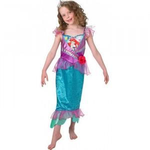 Costum Mica Sirena fetite 3-4 ani