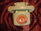 telefon vechi cu disc culoare rara