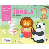 Joc de bingo Aventuri in jungla Chalk and Chuckles, 3 ani+