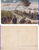 Militari (Cernauti, Bucovina)- militara, razboi, WWI, WK1, Necirculata, Printata