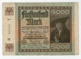 Bancnote Germania - 5 000 Marci 1922