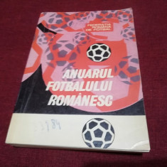 ANUARUL FOTBALULUI ROMANESC 1967 - 1969