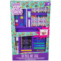 Set de arta Sambro Littlest Pet Shop 68 elemente