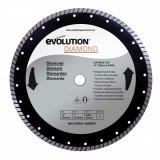 Cumpara ieftin Disc pentru fierastrau circular, taiere marmura, piatra Evolution EVORAGEBLADE355D, O355x25.4 mm
