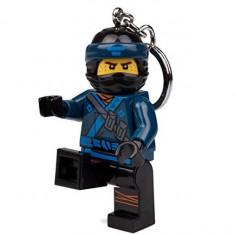 Breloc cu lanterna LEGO Ninjago Jay (LGL-KE108J)