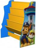 Cumpara ieftin Organizator carti cu cadru din lemn copii 3-6 ani Paw Patrol