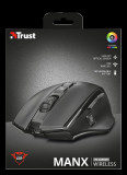 Mouse fara fir reincarcabil trust gxt 140 manx rechargeable wireless