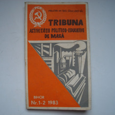 Tribuna activitatii politico-educative de masa, nr. 1-2/1983