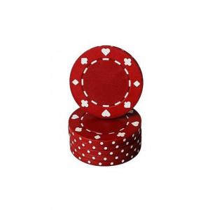Jeton poker cu SimboluriCărţiPoker , roşu 11,5g