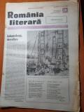 Romania literara 11 mai 1989-portretul etern a lui eminescu