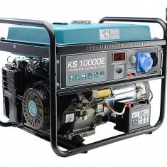 Generator profesional 8.0 kW, benzina, KS10000E Könner & Söhnen, E-start,