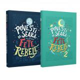 Pachet Povești de seară pentru fete rebele (2 volume)