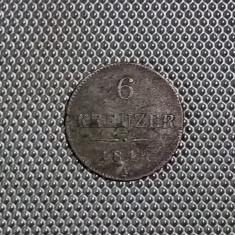 6 Kreuzer 1849 A.