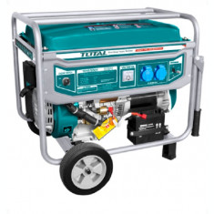 Generator curent electric pe benzina TOTAL 5.5kW Monofazat