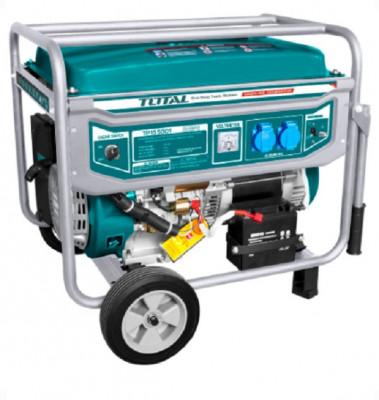 Generator curent electric pe benzina TOTAL 5.5kW Monofazat foto