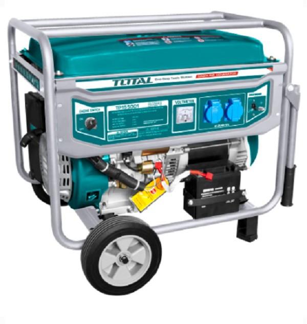Generator curent electric pe benzina TOTAL 5.5kW Monofazat