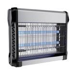 Aparat anti-insecte, lumina UV, 2 x 8 W, carcasa aluminiu, Negru, General