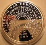 A.735 GERMANIA ERWEITERUNG EUROPÄISCHEN UNION 10 EURO 2004 G PROOF ARGINT .925