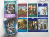 Fairy Tarot-Carti TAROT-ZANE/ORIGINALE format mare ed lux - ARGINTII