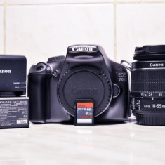 Aparat foto Canon EOS 1100D! Okazie!