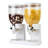 Dispenser dublu pentru cereale Fresh and Easy, Alb, General