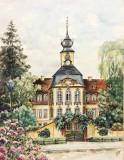 Acuarela veche , localizata Leipzig, Peisaje, Altul