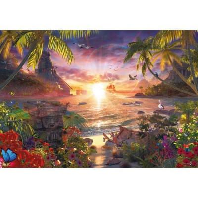 Puzzle Apusul In Paradis, 18000 Piese foto