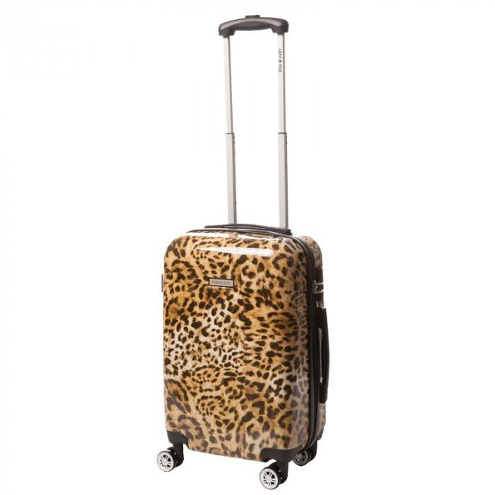 Troler Lamonza, 55 cm, model leopard
