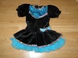 Costum carnaval serbare rochie dans balet gimnastica pentru copii de 4-5-6 ani, 4-5 ani, Din imagine