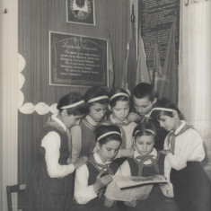 Fotografie romaneasca pionieri perioada comunista