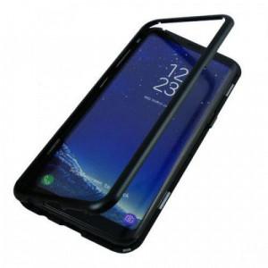 Husa Magnetic Case 360° + folie autoregenerativa pentru Samsung Galaxy S8 Plus Negru