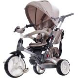 Cumpara ieftin Tricicleta cu sezut reversibil Sun Baby 007 Little Tiger - Beige