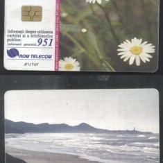 Romania 2000 Telephone card Flowers Seaside Rom 62 CT.046