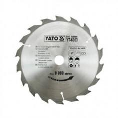 Disc pentru lemn Yato YT-6063, 185 x 18 x 20 mm
