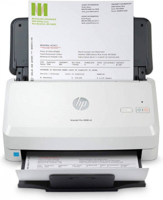 Scanner HP Scanjet Pro 2000 S2 USB A4 Alb foto