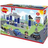 Set de constructie Ecoiffier Abrick Statia de Politie