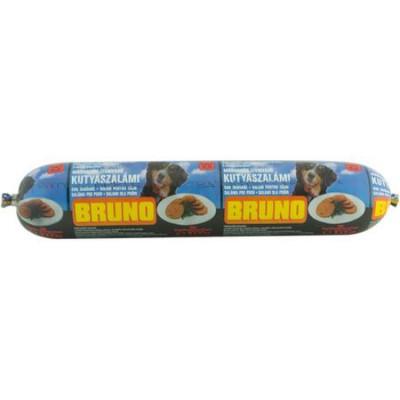 Hrana pentru caini salam cu aroma de vita Bruno 1kg foto