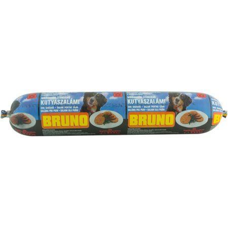 Hrana pentru caini salam cu aroma de vita Bruno 1kg