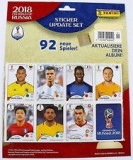 Panini World Cup 2018 Update Set 92 stickere