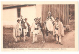 SV * Sibiu * MIRII CU NUNTASI * NUNTA LA GOSPODARI ROMANI, Saliste, Circulata, Necirculata, Fotografie, Printata