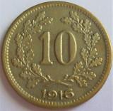 Cumpara ieftin Moneda istorica 10 HELLER - AUSTRO-UNGARIA / AUSTRIA, anul 1916 *cod 3458, Europa