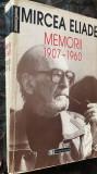 MEMORII 1907-1960,MIRCEA ELIADE(HUMANITAS 1997)